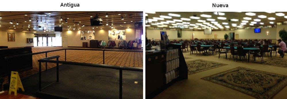 Binion's Poker Room