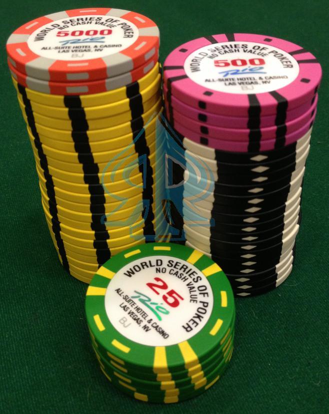 Fichas poker Las Vegas